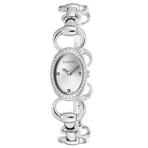 GUCCI Tornabuoni Diamond Ladies Watch YA118505